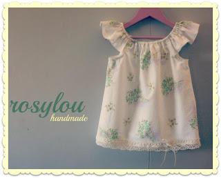 Handmade Baby Vintage Clothes - Rosylou