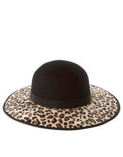leopard print accessories - asos hat