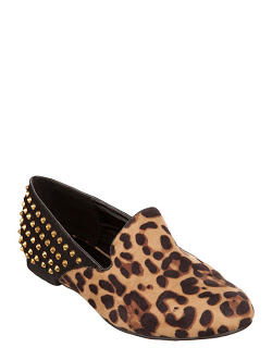 leopard print accessories - therapy bedford loafers
