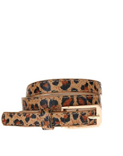 leopard print accessories - asos belt