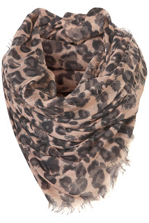 Leopard print accessories - top shop scarf