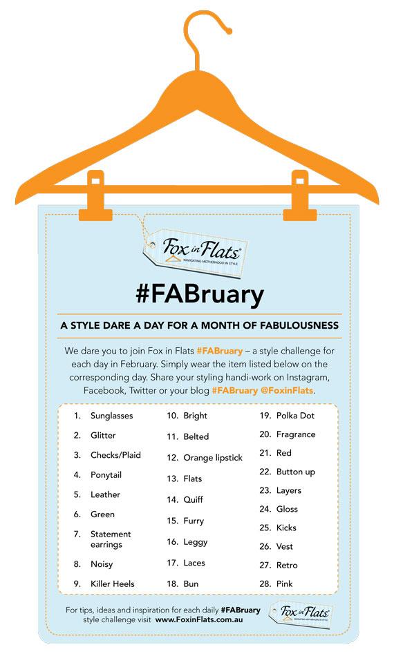 FABruary Style Dare