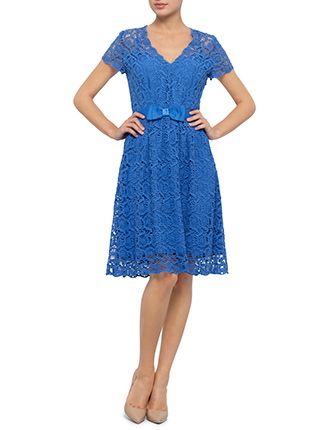 Image for S/S Portabello Lace Dress from StoreName