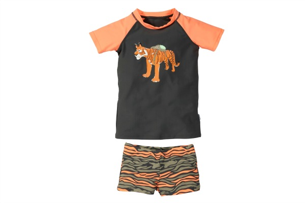 The Kidstore Swimwear - Boys Tiger Swimset