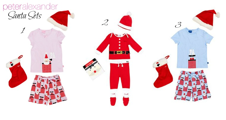 Peter Alexander JNR Santa Sets