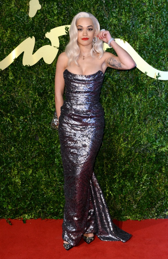 British Fashion Awards 2013 Rita Ora