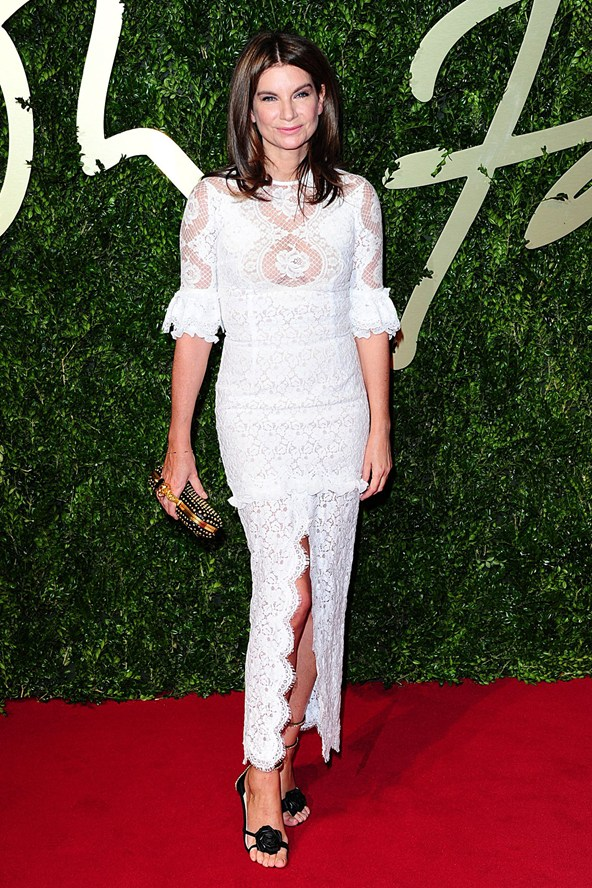 British Fashion Awards 2013 Natalie Massenet