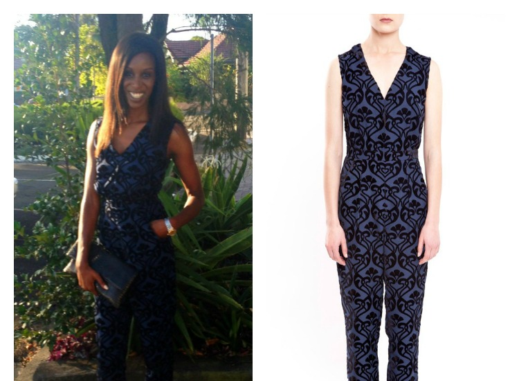 Alice by Temperley Jumpsuit -what i wore