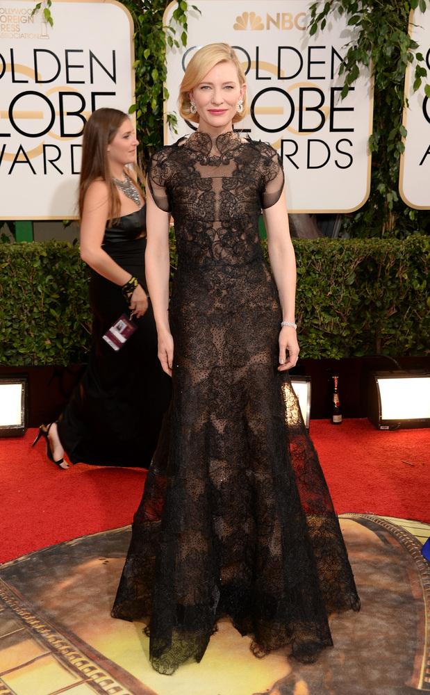 Cate Blanchett golden globes 2014 best dressed