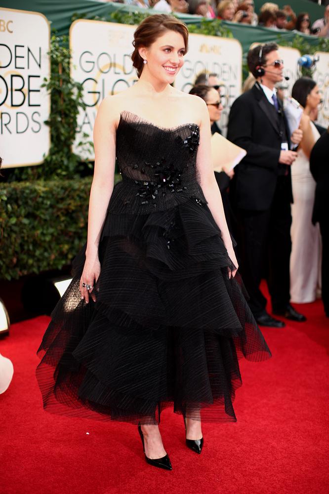 Greta Gerwig golden globes 2014
