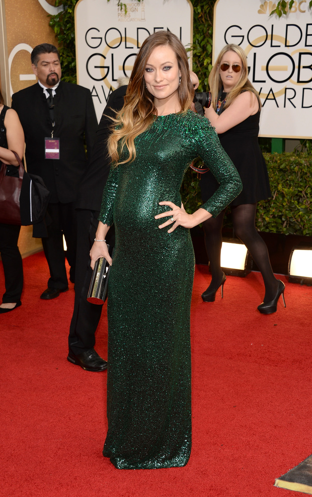 Olivia Wilde golden globes 2014 best dressed