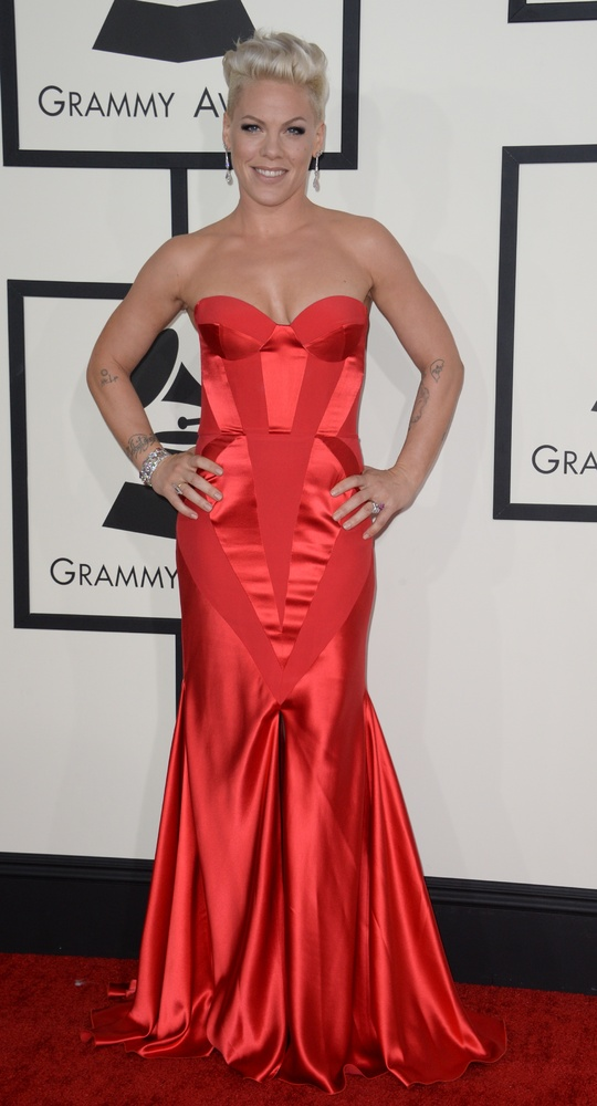 grammys best dressed 2014 pink
