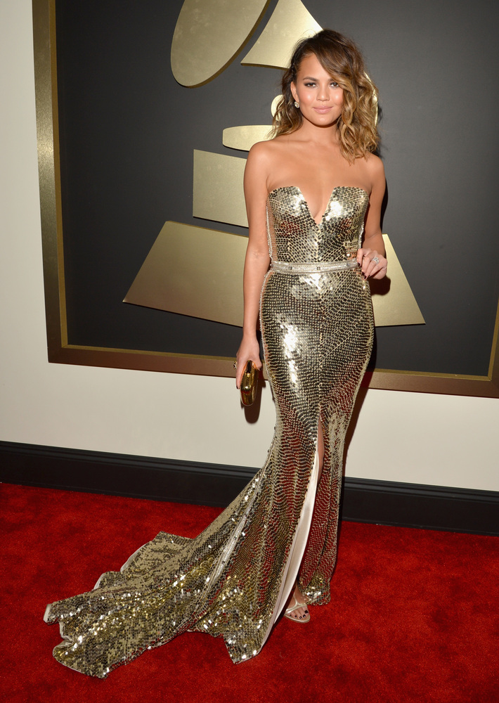 grammys best dressed 2014 chrissy teigan