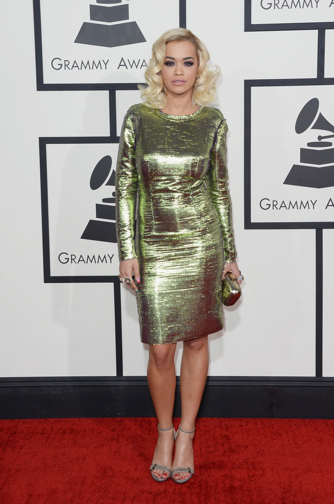 grammys best dressed 2014 rita ora