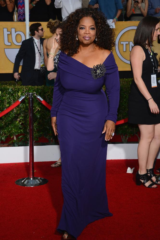 Oprah Winfrey-SAG Awards-2014-Best-Dressed