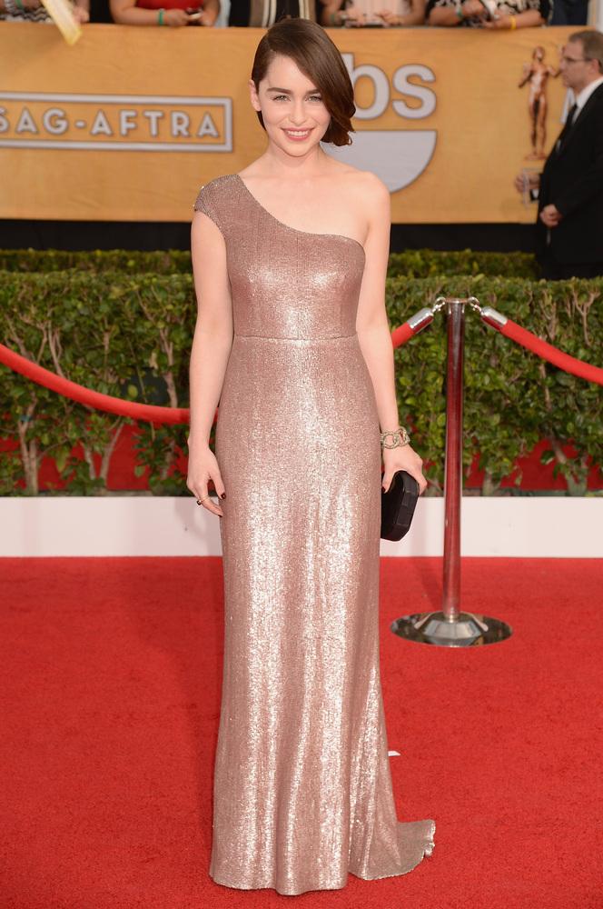 Emilia Clarke-SAG Awards-2014-Best-Dressed
