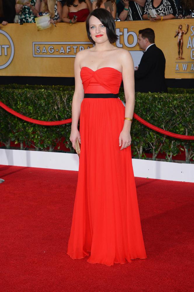Elisabeth Moss-SAG Awards-2014-Best-Dressed