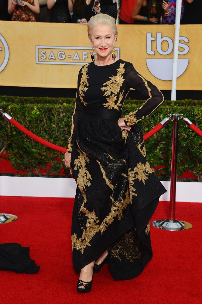Helen Mirren -SAG Awards-2014-Best-Dressed