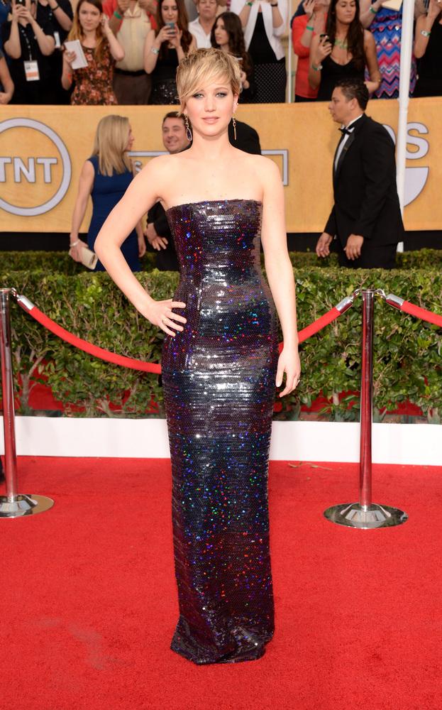 Jennifer Lawrence-SAG Awards-2014-Best-Dressed