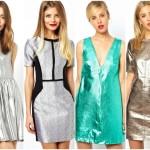 21 Metallic Dresses – Shop the Trend