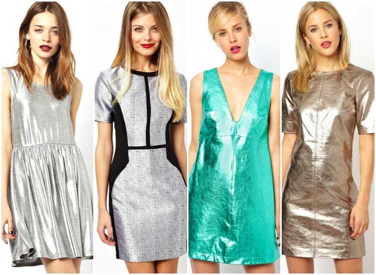 21 Metallic Dresses