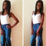 What I Wore: High Waisted Jeans