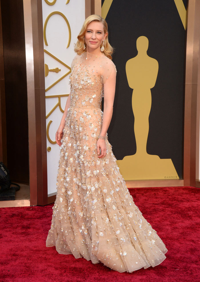 Oscars Best Dressed Red Carpet 2014 - Cate Blanchett