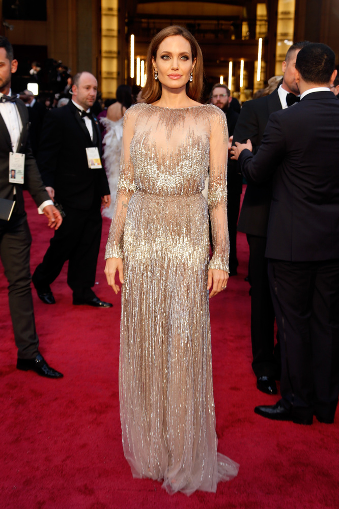 Oscars Best Dressed Red Carpet 2014 - Angelina Jolie