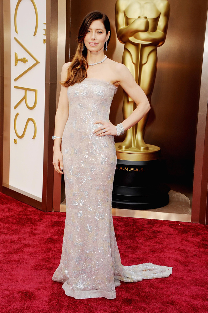 Oscars Best Dressed Red Carpet 2014 _ Jessica Biel