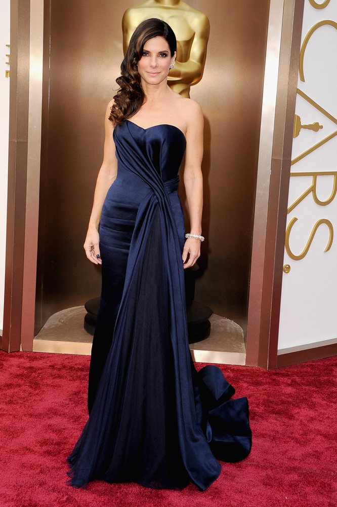 Oscars Best Dressed Red Carpet 2014 - Sandra Bullock