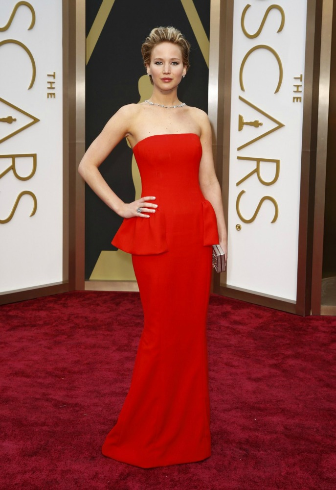 Oscars Best Dressed Red Carpet 2014 - Jennifer Lawrence