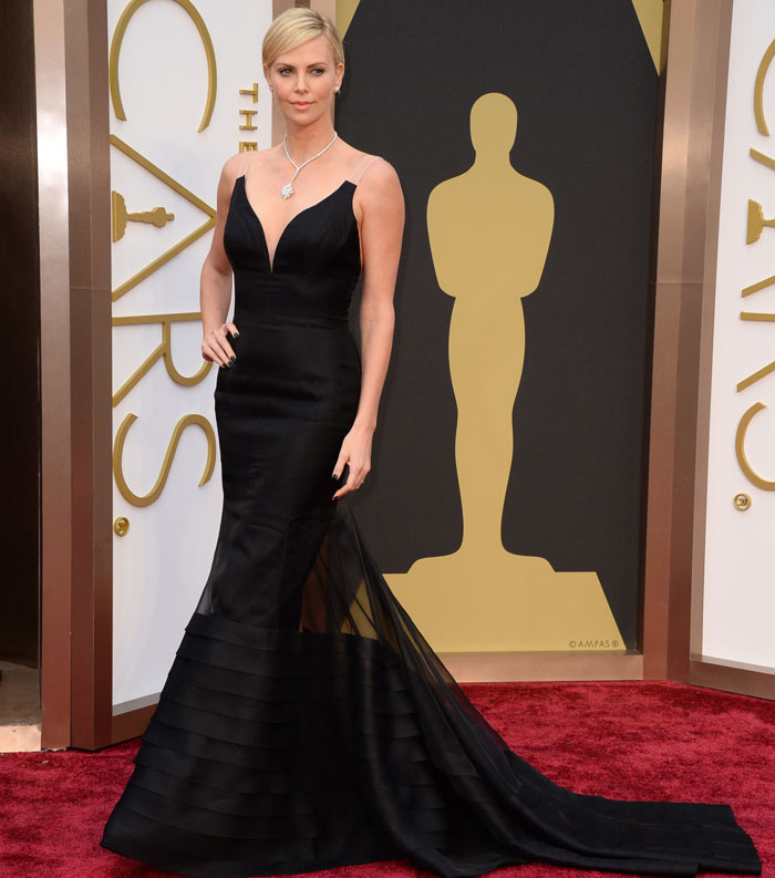 Oscars Best Dressed Red Carpet 2014 - Charlize Theron