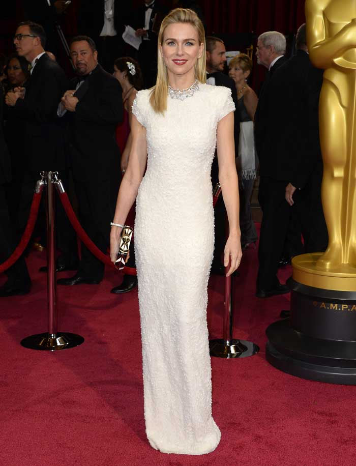 Oscars Best Dressed Red Carpet 2014 - Naomi Watts