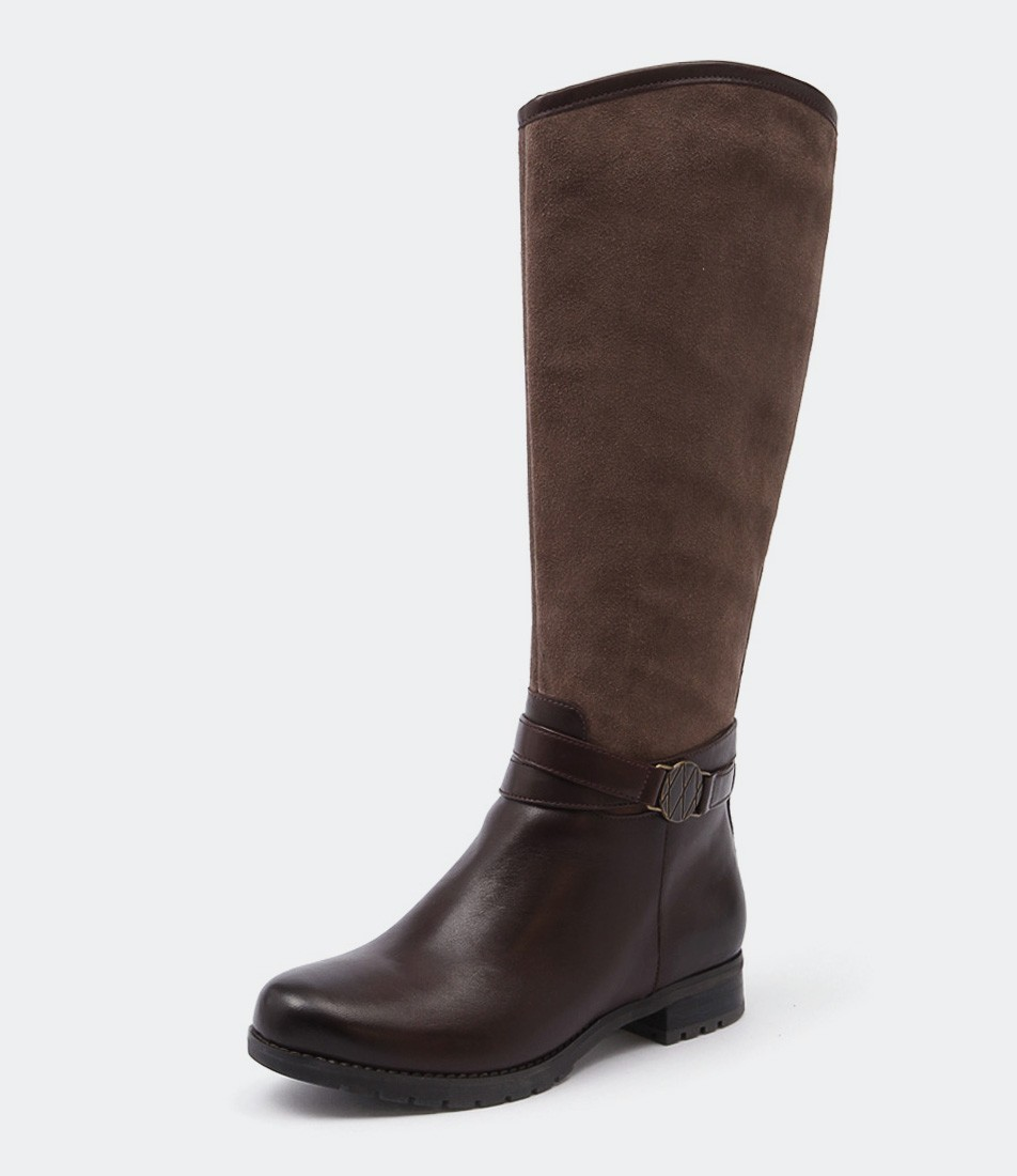 10 Must Have Ankle Boots from Styletread - Rockport Tristina Circle Boot Brown