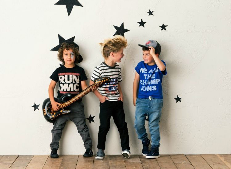 Cotton On Kids Launch Bravado Rock Range