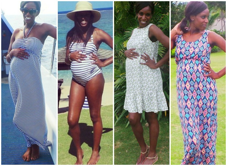 What I Wore: Next Maternity Holiday Chic