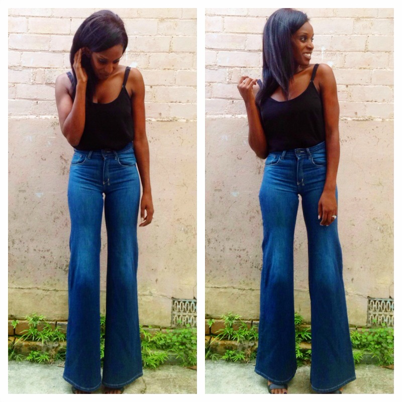 My Style: High Waisted Flare Jeans