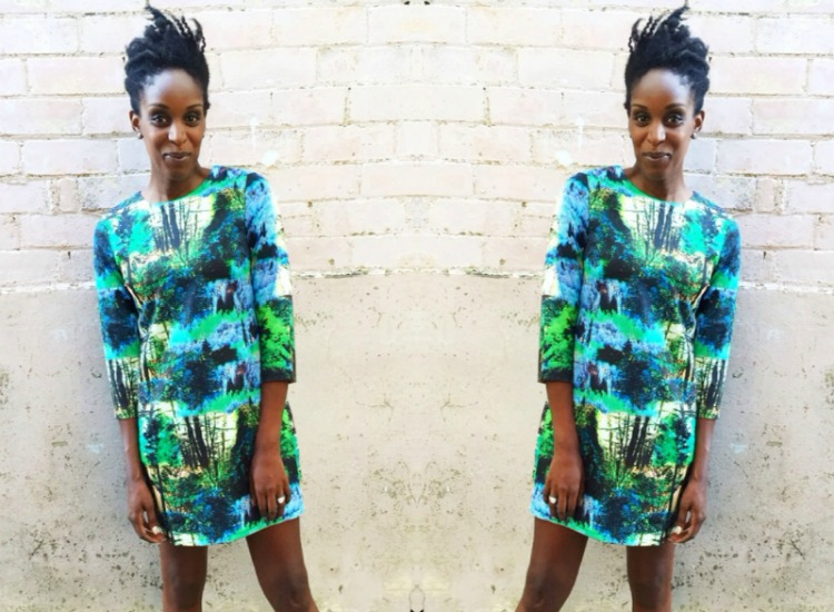 My Style: Boohoo Digital Print Dress