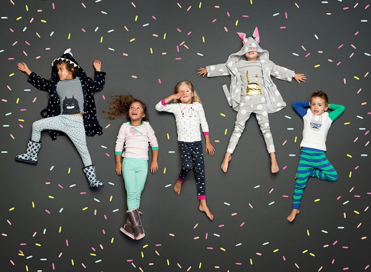cotton on kids relaunches sleepwear range