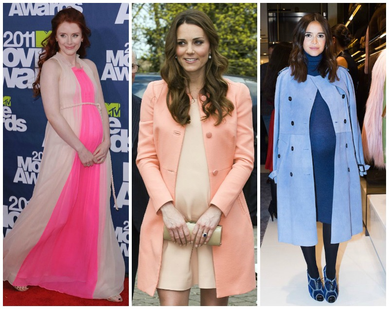 Trends Perfect for Pregnancy: Colour Blocking
