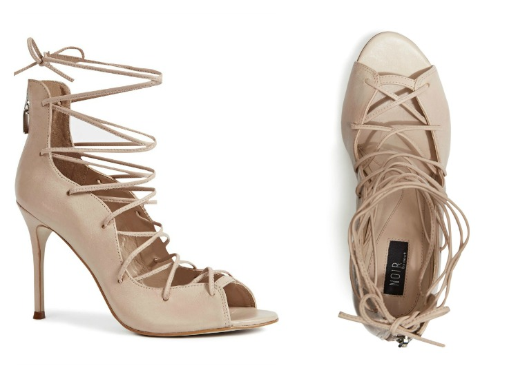 Shoesday: Next Lace Up Sandal