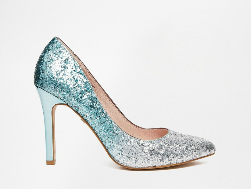 Shoesday: Faith Finchley Sequin Pumps