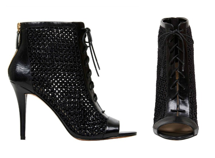 Shoesday: Nine West Daiquiri Peeptoe Boot