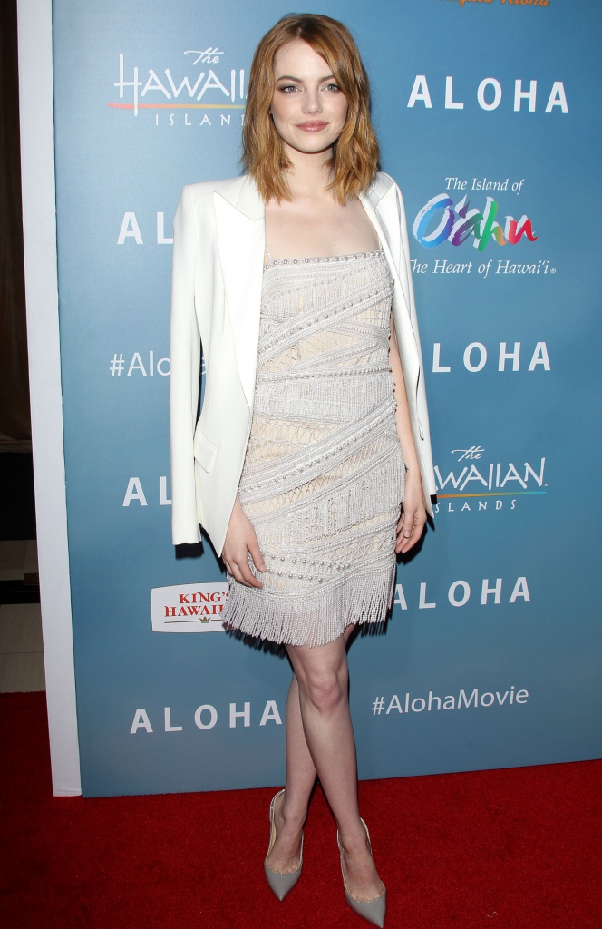 Look of the Day: Emma Stone in Emilio Pucci