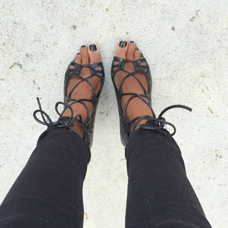 Shoesday: 6 Lace Up Heels Via Styletread