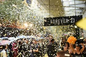 Forever 21 Pitt Street Sydney Launch