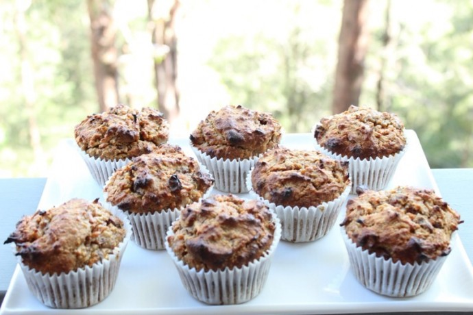 Kids Meals: Carrot and Walnut muffins