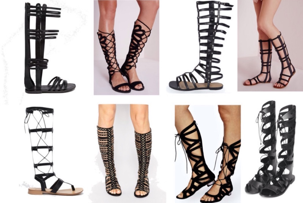 0417786ced9931 Shoesday  10 Tall Gladiator Sandals