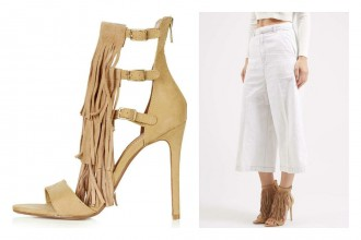 Shoesday: Topshop Fringed Heels