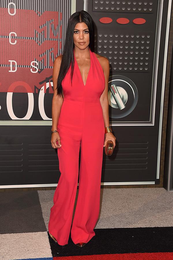 Kourtney Kardashian in Balmain